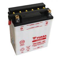 YUASA YB12AL-A2 Мото аккумулятор 12 А/ч, 150 А, (-/+), 134x80x160 мм