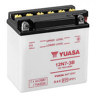YUASA 12N7-3B Мото аккумулятор 7 А/ч, 70 А, (-/+), 135х75х133 мм