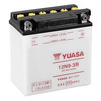 YUASA 12N9-3B Мото аккумулятор 9,5 А/ч, 85 А, (-/+), 135х75х139 мм