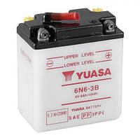 YUASA 6N6-3B Мото аккумулятор 6 А/ч, (-/+), 99х57х111 мм