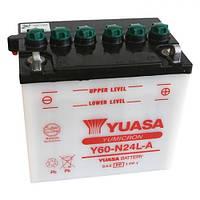 YUASA Y60-N24L-A Мото аккумулятор 28 А/ч, 240 А, (-/+), 184х124х175 мм