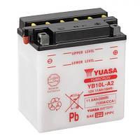 YUASA YB10L-A2 Мото аккумулятор 11 А/ч, 120 А, (-/+), 135х90х145 мм