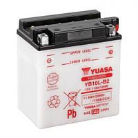 YUASA YB10L-B2 Мото аккумулятор 11 А/ч, 160 А, 135х90х145 мм