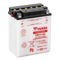 YUASA YB14-A2 Мото аккумулятор 14 А/ч, 190 А, 134x89x166 мм