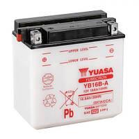 YUASA YB16B-A Мото аккумулятор 16 А/ч, 207 А, (+/-), 160x90x161 мм