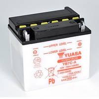 YUASA YB7C-A Мото аккумулятор 7 А/ч, 75 А, 130x90x114 мм