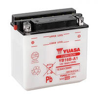 YUASA YB16B-A1 Мото аккумулятор 16 А/ч, 207 А, (+/-), 160x90x161 мм