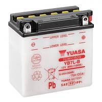 YUASA YB7L-B Мото аккумулятор 8 А/ч, 124 А, (-/+), 135x75x133 мм