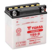 YUASA YB9-B Мото аккумулятор 9 А/ч, 115 А, (+/-), 135x75x139 мм