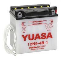 YUASA 12N9-4B-1 Мото аккумулятор 9 А/ч, 85 А (+/-), 135х75х139 мм