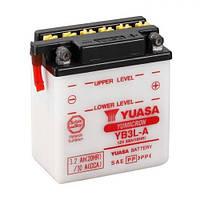 YUASA YB3L-A Мото аккумулятор 3 А/ч, 25 А, (-/+), 98х56х110 мм