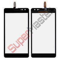 Сенсорный экран для Nokia 535  с ревизией (CT2C1607FPC-A1-E) черный
