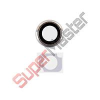 Набор для iPhone 6 (4.7) стекла внешней камеры и фотовспышки, цвет черный