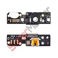 Разъем зарядки для телефона Meizu MX2, с нижней платой
