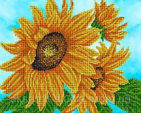 """Схема для вышивки бисером """"Цветок солнца"""""""