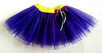 Юбка из фатина 104, фиолетовый