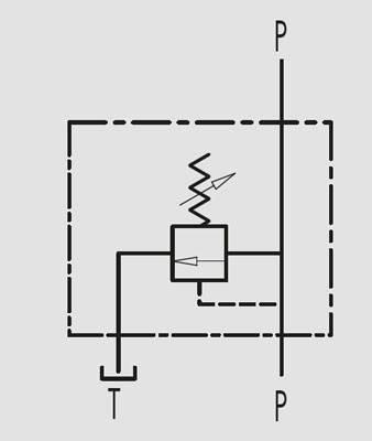"""Клапан запобіжний VMP 1/2"""" 80-300 BAR (Італія), фото 2"""