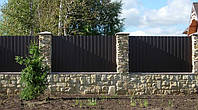 Профнастил на забор (стеновой, облицовочный, потолочный). Производство