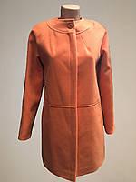Пальто женское кашемировое весна-осень