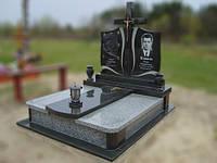 Двойной гранитный памятник на могилу