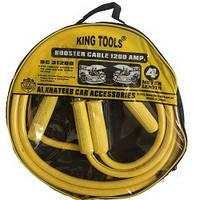 Пусковые провода  1200А 4м KING TOOLS (ВС-31200) сумка
