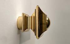 Декоративный наконечник Борджеза для кованого карниза 16 мм.