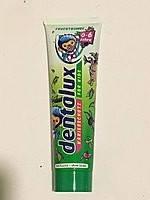Детская зубная паста «Фруктовая Бомба» Dentalux for kids Frucht Bombe