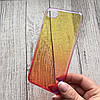 Чехол пластиковый омбре на iPhone 7, фото 2