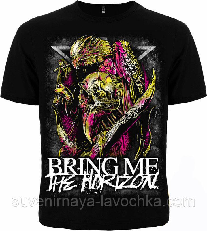 Рок футболка Bring me the Horizon (Орел)