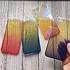 Чехол пластиковый омбре на iPhone 7 plus
