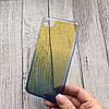 Чехол пластиковый омбре на iPhone 7 plus, фото 3