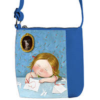 Модная сумка для девочки с принтом Гапчинская