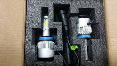 Светодиодная лампа цоколь H11, S2 COB 6000К, 8000 lm 36W, 9-36В, фото 3