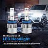 Светодиодная лампа цоколь H11, S2 COB 6000К, 8000 lm 36W, 9-36В, фото 2