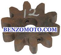 Шестерня бетономешалки 12 (15*65 h14, 10 зубов)