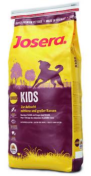 Сухой корм JOSERA Kids для щенков и юниоров средних и крупных пород, 15  кг