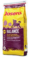 JOSERA Balance Light & Senior  корм для пожилых собак, характеризующийся низким содержанием жира, 4 кг