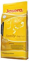 JOSERA Family сбалансированный корм высокого качества для щенков разных пород, 15 кг