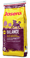 JOSERA Balance Light & Senior  корм для пожилых собак, характеризующийся низким содержанием жира, 15 кг