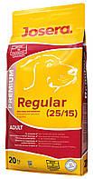 JOSERA Regular корм, идеально подходящий для взрослых собак со средней активностью, 20 кг