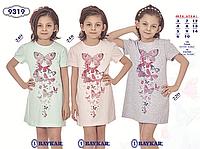 Ночная сорочка для девочки TM Baykar р.12-14 лет (3 шт в ростовке) серый меланж