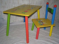 Стол и стул детский комплект