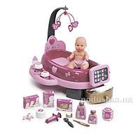 Игровой центр Baby Nurse для ухода за куклой с пупсиком Smoby  220317