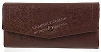 Стильный оригинальный женский кошелек я мягкой кожи PU высокого качества SAARALYNN art. C-88268 коричневый