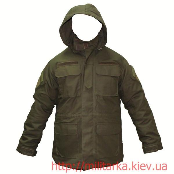 Куртка военная с подстежкой олива