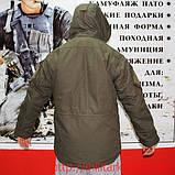 Куртка военная с подстежкой олива, фото 4