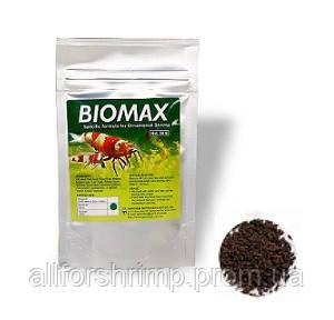 Genchem Biomax 3, основной корм для взрослых креветок, стимулирует размножение и увеличение количества икры,5г