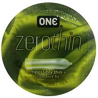 Презервативы ONE Zero (тонкие)
