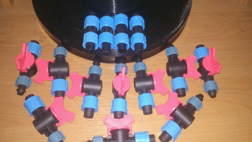 Комплект крапельного поливу Поливайка базовий + (кран-стартер)