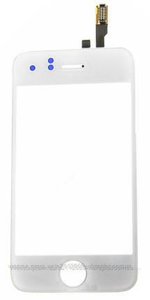Тачскрин (сенсор) Apple iPhone 3G, white (белый), фото 2